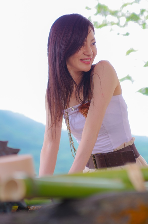 赤城神社撮影会モデル水盤06