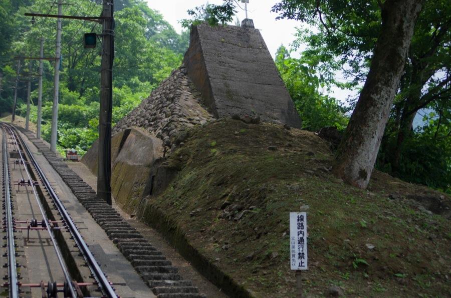 立山ケーブルカー路線02