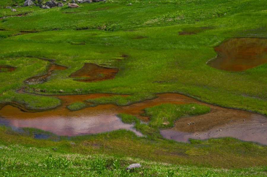 立山血の池04