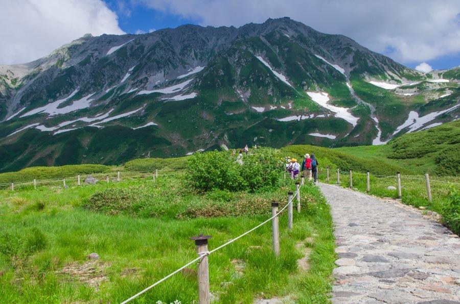 立山みどりが池から登り遊歩道04