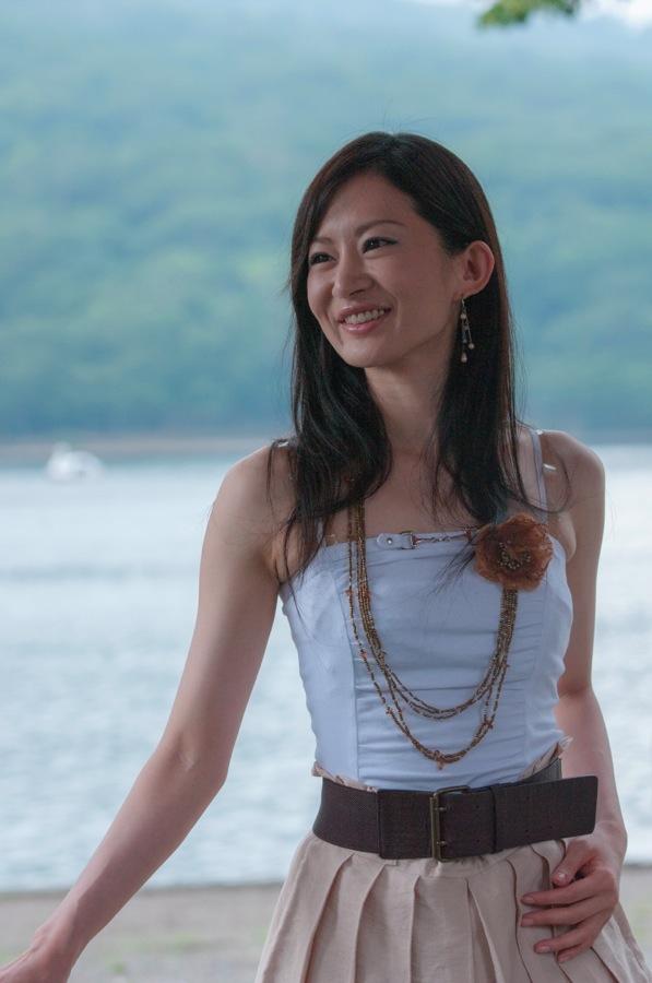 赤城神社中山りえ午前湖水01