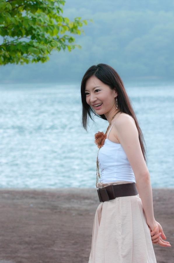 赤城神社中山りえ午前湖水04