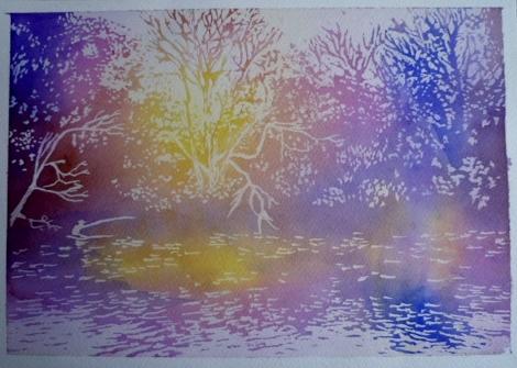 光と水のノスタルジックアート1回目
