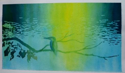 光と水のノスタルジックアート2回目