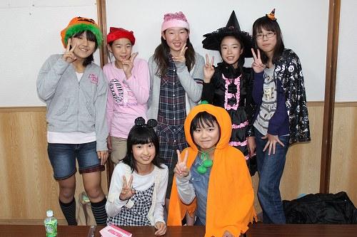 ハロウィンH24小6女子