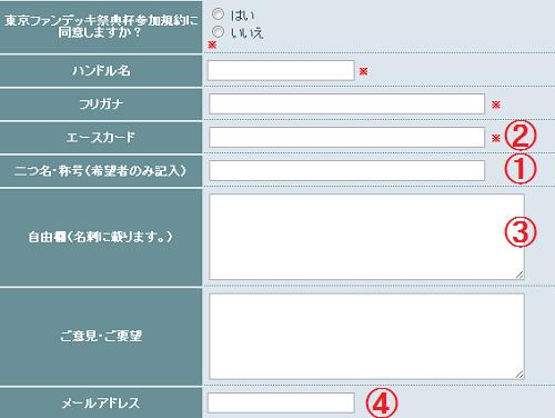 名詞用登録画面
