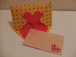 ハート封筒・カード