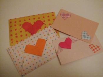 ハートカード・封筒