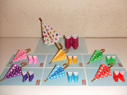 ミニ傘・長靴