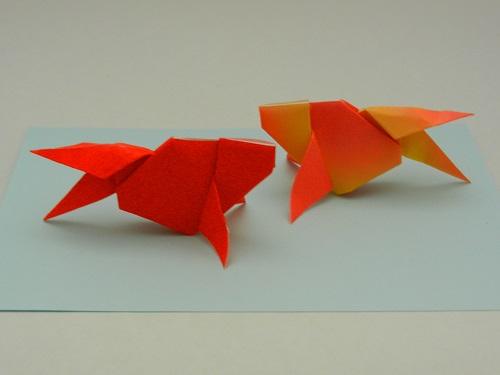 クリスマス 折り紙 折り紙 金魚 : yukikoneko23.blog.fc2.com