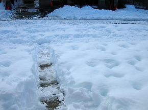 2014.02雪かき2度目①