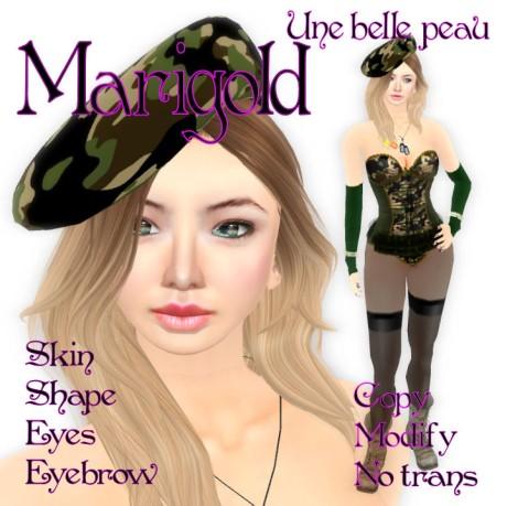 Marigold skin panel 460