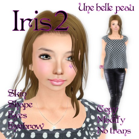 Iris2 skin panel