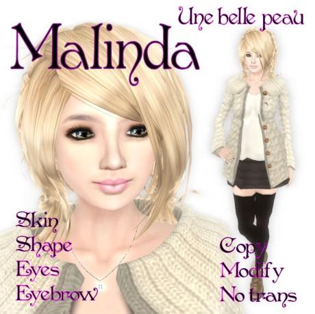 Malinda skin panel