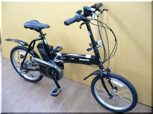 パナソニック/Panasonic/オフタイムOFFTIME/BE-ENW074/5Ah/オリタタミ折りたたみ電動アシスト自転車/b