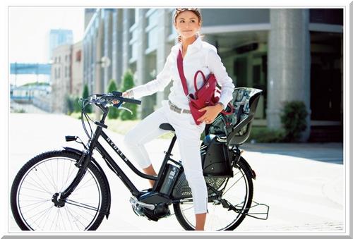 12年夏新モデル発売/ブリヂストン/VERYコラボ/HYDEE.Bハイディビー/HY6L62/電動アシスト自転車/ハンサムチャイルドシート/a