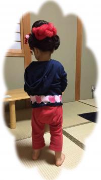 3歳 日本髪