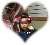 七五三 3歳 日本髪