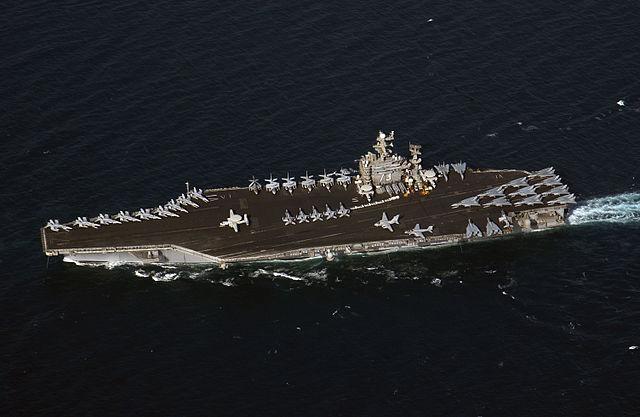 ペルシア湾を航行中