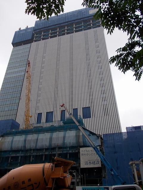 現在建築中の歌舞伎座_1
