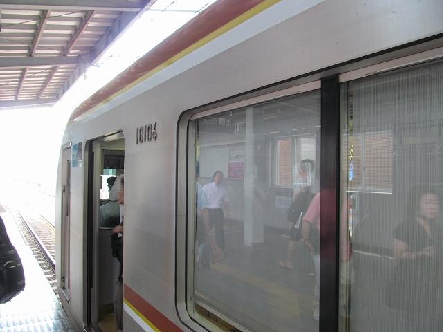 東京メトロ10000系による東急東横線での先行営業運転_3