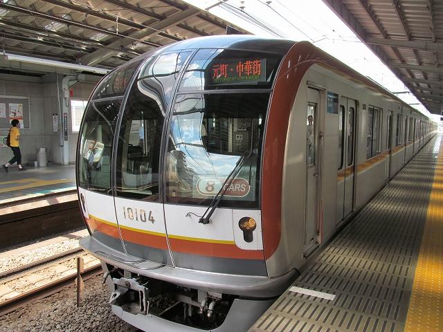 東京メトロ10000系による東急東横線での先行営業運転_1