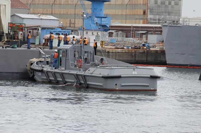 潜水艦の着桟まで_12