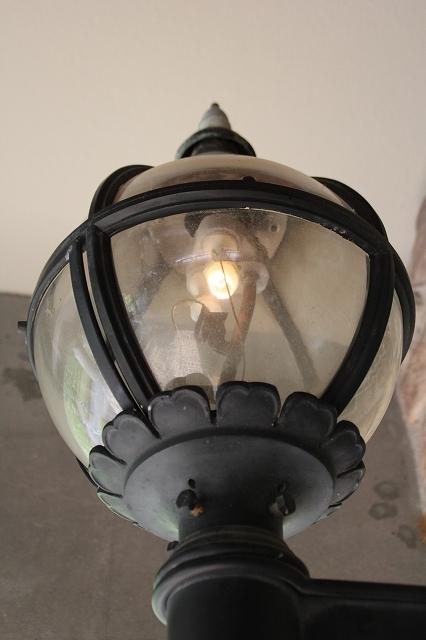 小型のガス燈