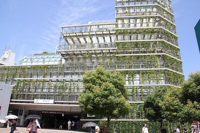 大岡山駅と東急病院