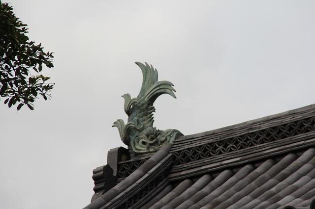 大手門渡櫓の鯱_2