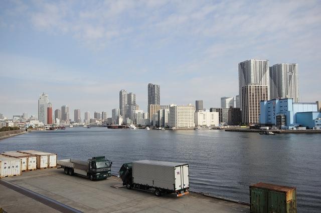 東京湾湾奥部と隅田川河口の様子_2