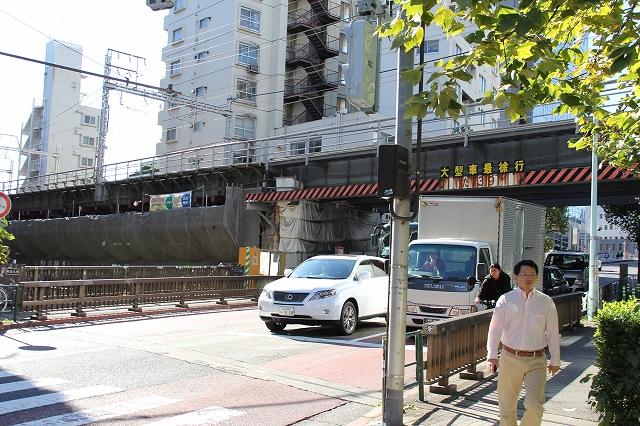 川の流れが見える渋谷川_6