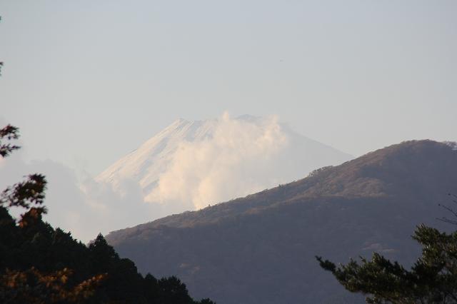 姿を表した富士山_2