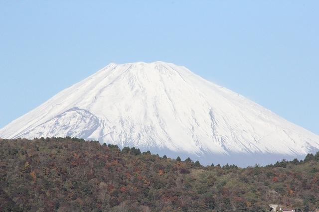 少し日が高くなってからの富士山_3