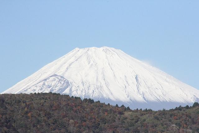 少し日が高くなってからの富士山_5