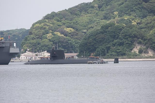 潜水艦の着桟まで_3