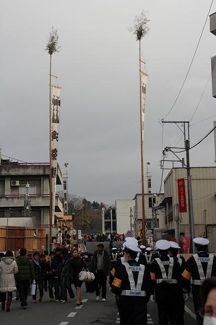 秩父神社までの道筋_4…奥は団子坂