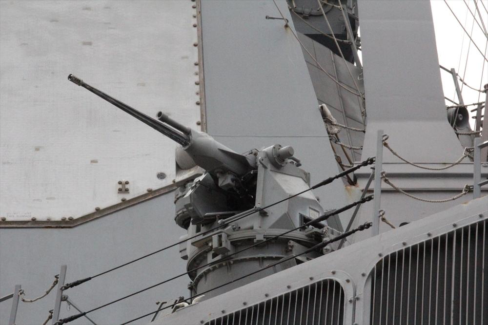 海賊対策用の機銃のようだ