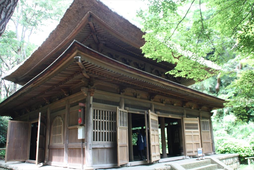 旧東慶寺仏殿_14