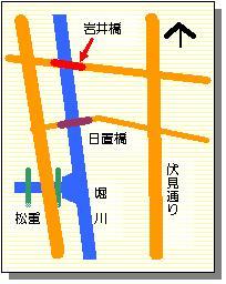 岩井橋マップ