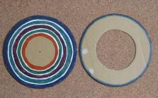 段ボール皿回し作り方4