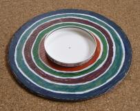 段ボール皿回し作り方5