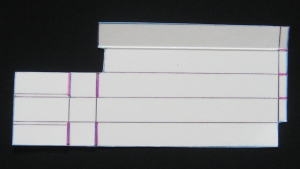 牛乳パックのスライドホイッスル 作り方2