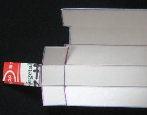 牛乳パックのスライドホイッスル 作り方3
