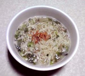 味のマルタイ 清陽軒監修 久留米ラーメン(どんぶり型)(できあがり)