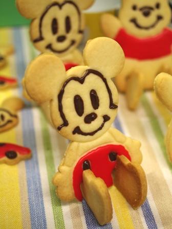 ミッキーとプーさんのクッキー02