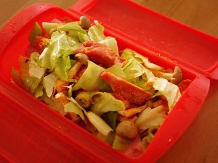 タンドリーチキンで、ご飯と一緒にパクパク野菜チキン01