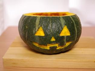 ジャックオランタンのかぼちゃケーキ04