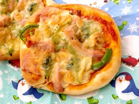 30分で簡単てごねピザ個別