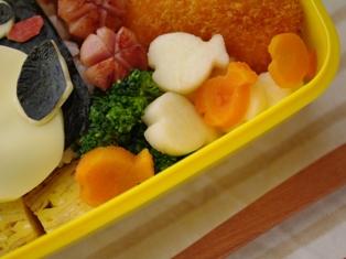 超簡単ペンギンのお弁当01
